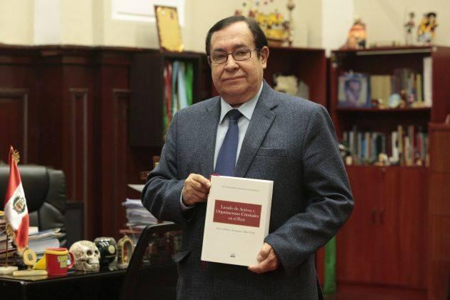 Prado Saldarriaga presentará este martes su libro sobre crimen organizado y lavado de activos. (GEC)