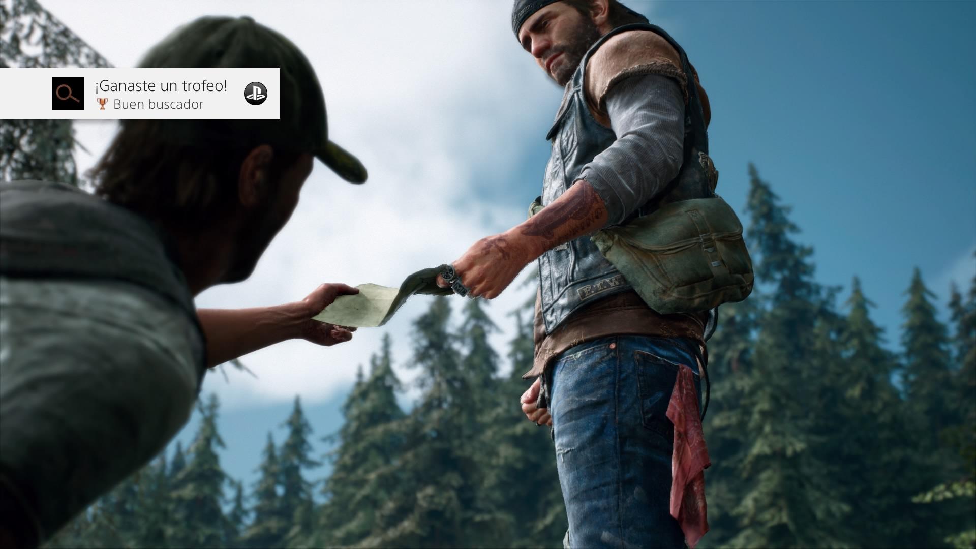 Podremos interactuar con otros personajes a lo largo de nuestra aventura.