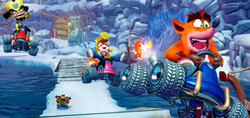 Crash Team Racing Nitro Fueled: revelan portada oficial del esperado juego