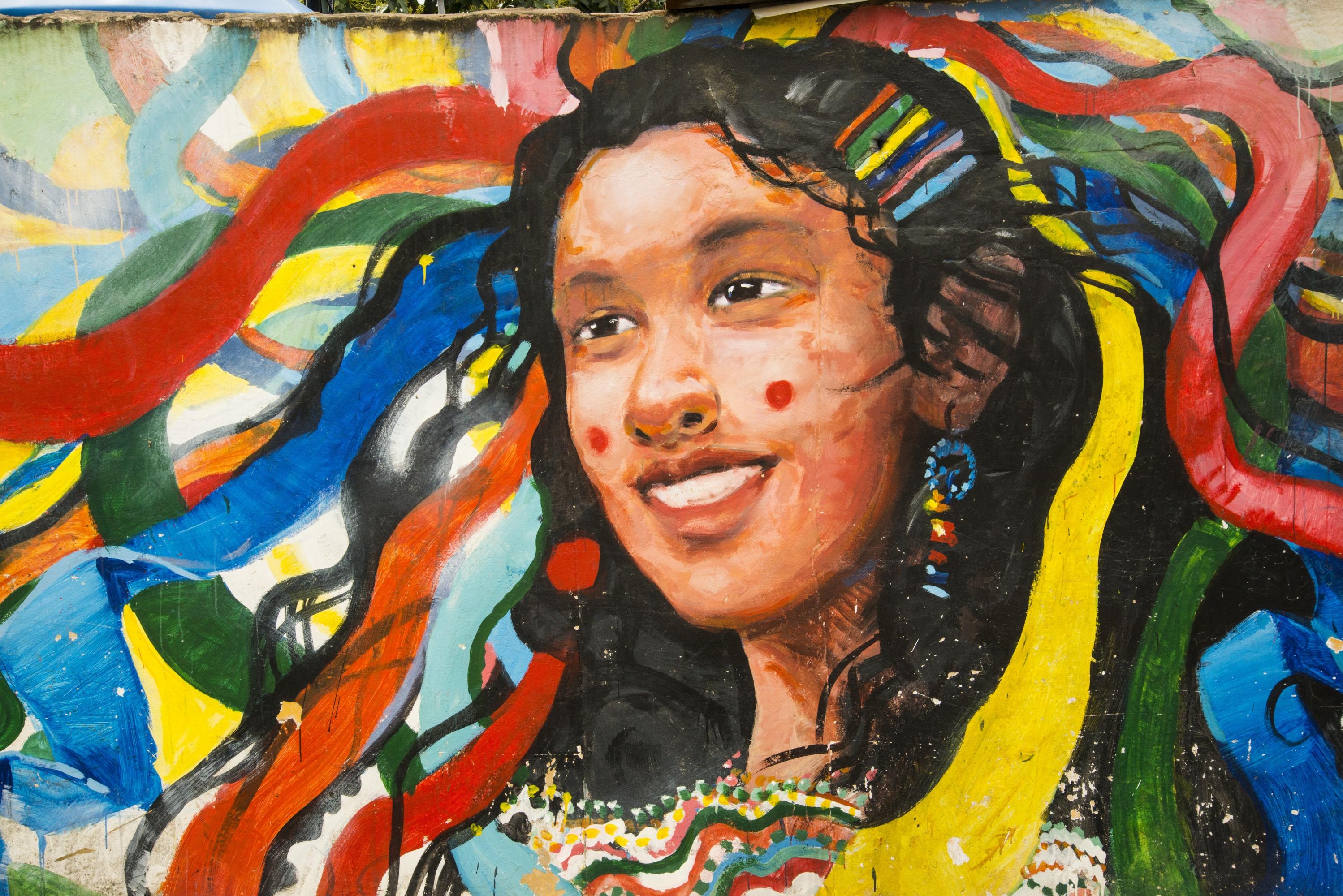 En las calles de Lamas, encontrarás diversos murales referentes a su cultura. (Foto: PromPerú)