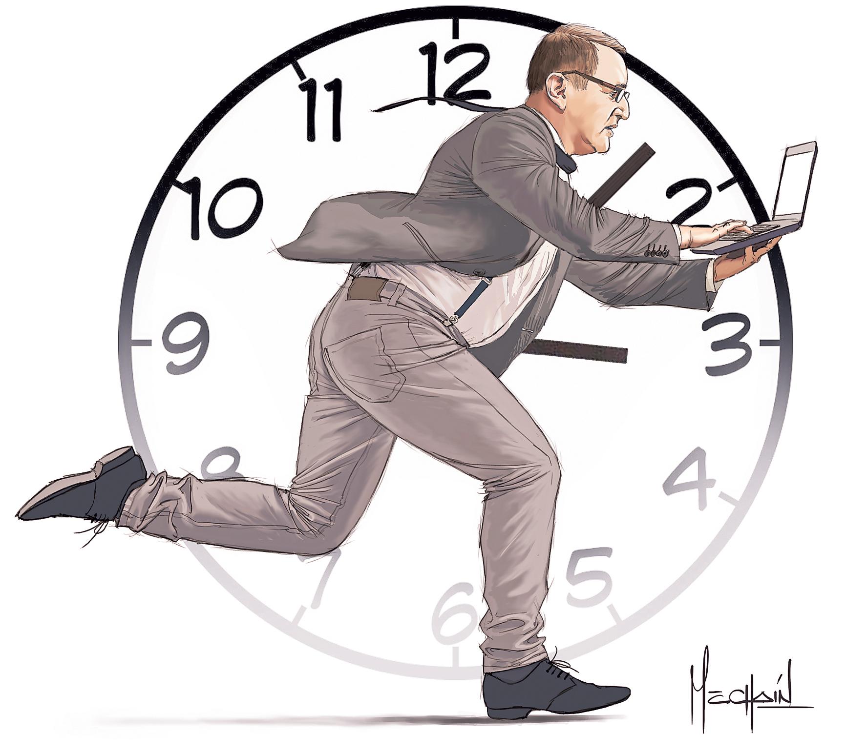 Ilustración de Beto Ortiz, hecha por Mechaín