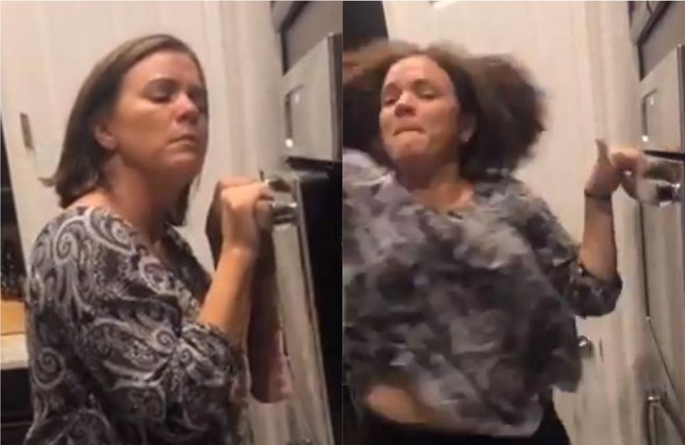 """El viral de una madre que logró tocar la melodía de """"Yeah!"""" con un horno   VIDEO"""