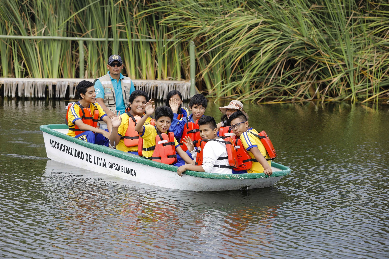 Municipalidad de Lima convoca a niños para ser guardianes de los Pantanos de Villa | FOTOS