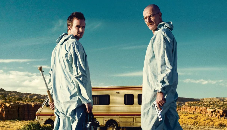 Aaron Paul y Bryan Cranston generan más intriga sobre su participación en la película de 'Breaking Bad'