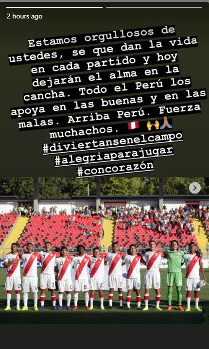 Mensaje de Paolo Guerrero.