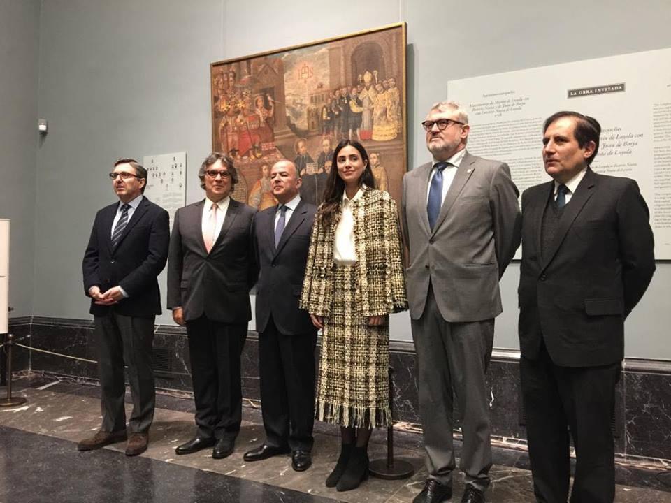 ARCOmadrid 2019: pintura cusqueña fue presentada en el Museo Nacional del Prado