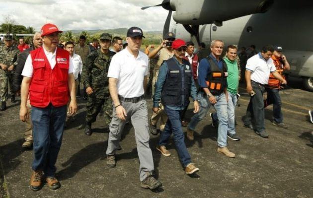 Salvador del Solar se encuentra en Tarapoto para evaluación de daños por sismo en Loreto | VIDEO