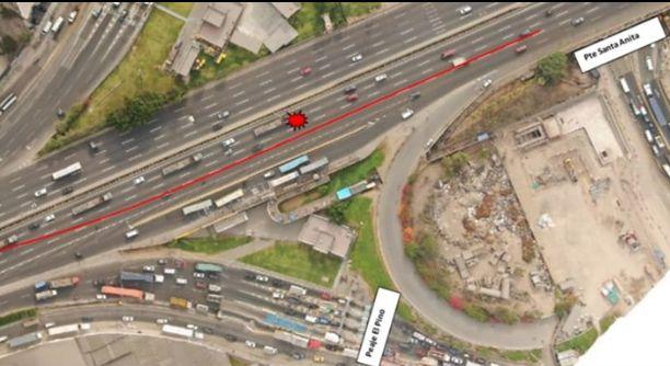 Vía de Evitamiento: tres carriles serán cerrados durante este fin de semana
