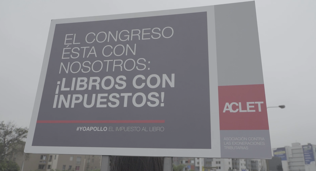 Libros: esta es la verdad de los carteles con errores ortográficos en Lima