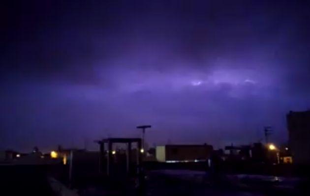 Lluvia torrencial y relámpagos alertaron a vecinos de Barranca y Huacho