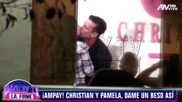 Isabel Acevedo y su reacción cuando le preguntan sobre beso entre Christian Domínguez y Pamela Franco - Diario Perú21
