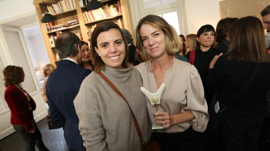 Silvana Pestana ganó en Madrid el premio Kuna Women