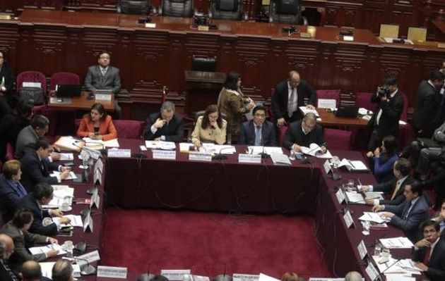 Comisión de Constitución debate hoy predictamen sobre elecciones internas