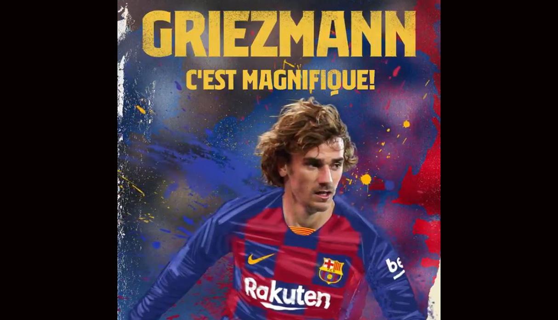 Barcelona anuncia de manera oficial el fichaje de Antoine Griezmann