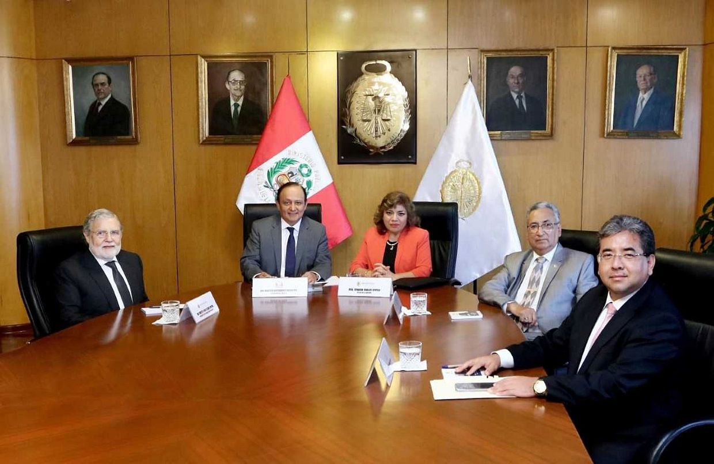 Oficializan designación de rectores de la Comisión Especial de la JNJ