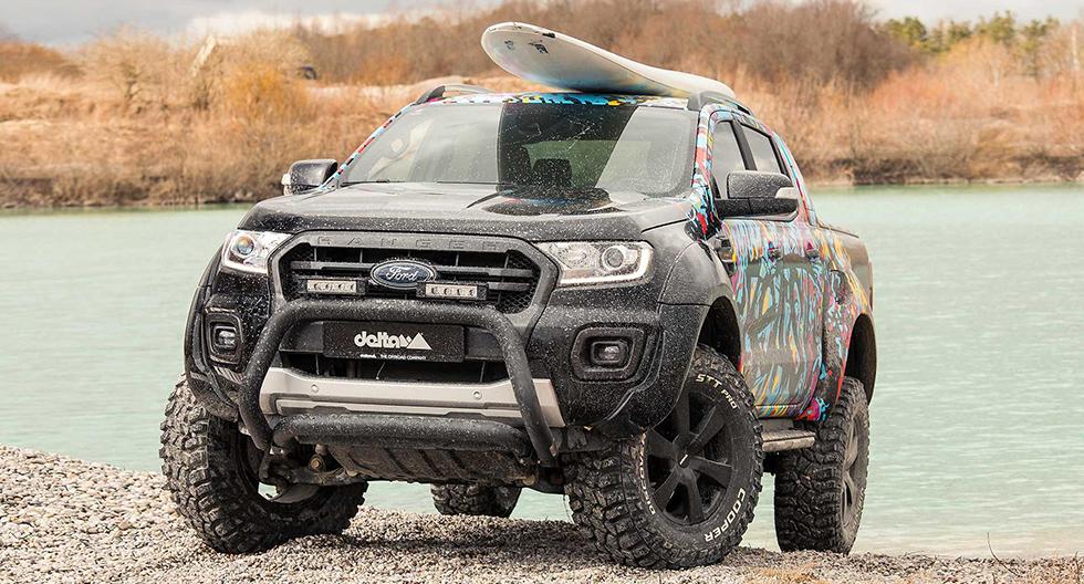 Ford Ranger: preparador delta4x4 le da un look más radical al todoterreno | FOTOS
