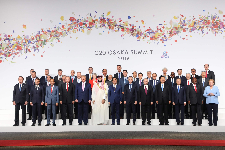Líderes del mundo se dieron cita en la cumbre del G20 en Japón. (Foto: AFP)