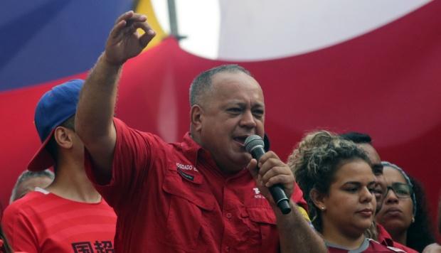En la imagen, Diosdado Cabello, el número dos del chavismo. (Foto: AFP)