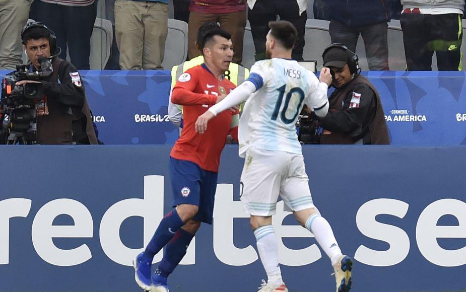 Copa América 2019: así se vivió el tenso enfrentamiento entre Chile y Argentina | FOTOS