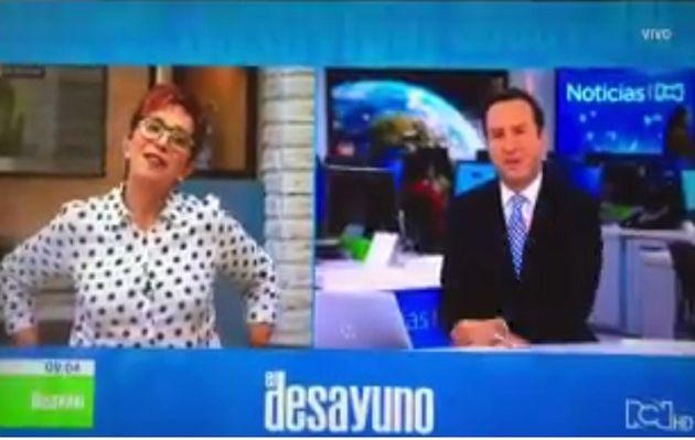 Conductor de TV lanzó en vivo comentario ofensivo sobre venezolanos
