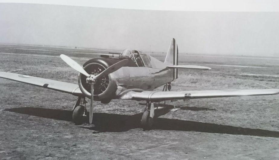 FAP restaurará histórico avión NA-50, idéntico al que voló Quiñones | FOTOS