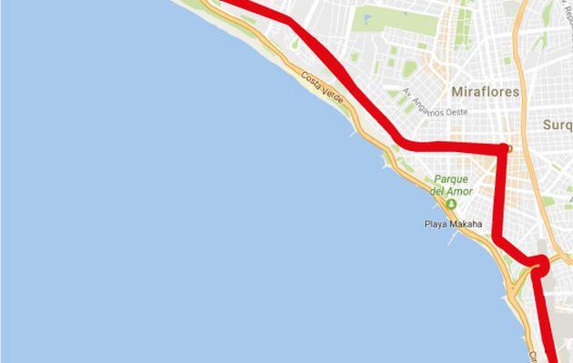 Desvíos de tránsito hoy por el Ironman 70.3 Perú