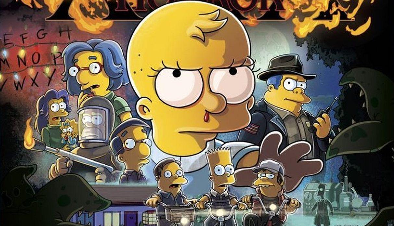 'Los Simpson' parodian a 'Stranger Things' en su próximo especial de Halloween | FOTOS