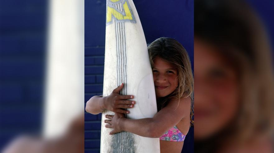 Sofía Mulanovich: las fotos inéditas de cuando tenía 11 años y ya soñaba con ser campeona