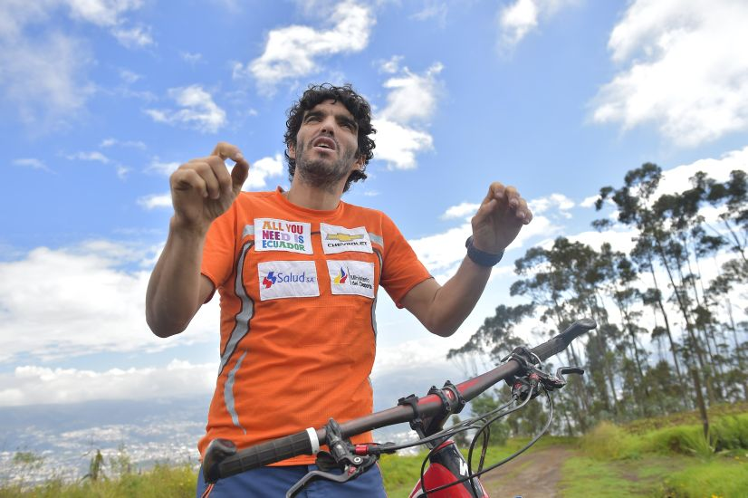 Ecuatoriano escalará el K2 sin la mitad de sus pies y sin oxígeno