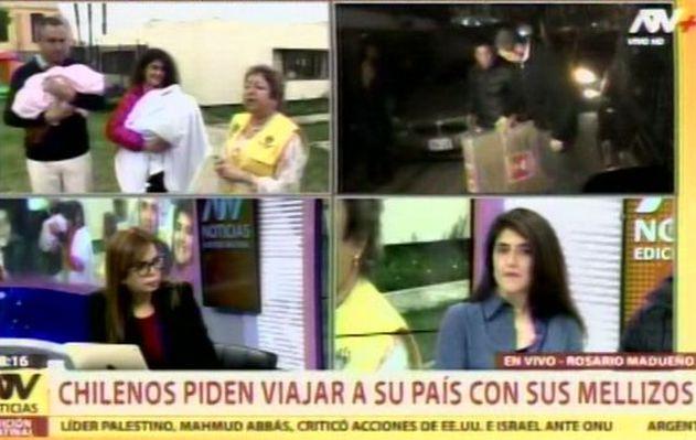 Esposos chilenos piden viajar a su país con sus bebés para que reciban atención médica
