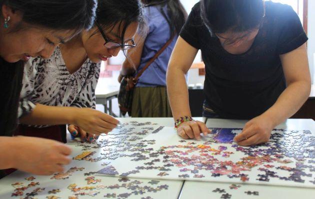 'Torneo de rompecabezas': la competencia más extrema de puzzles en Lima