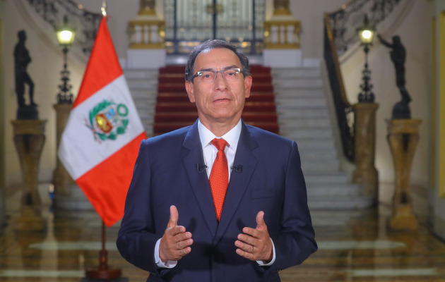 Martín Vizcarra convoca al Congreso a legislatura extraordinaria este viernes