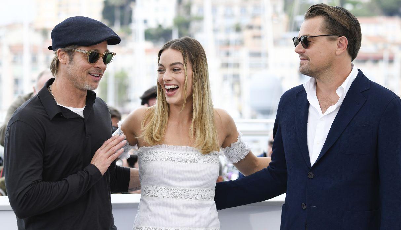 Margot Robbie y Brad Pitt se burlan de Leonardo DiCaprio por la muerte de Jack en 'Titanic' | VIDEO