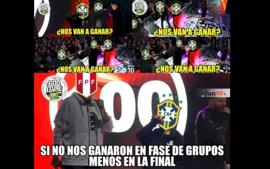 Perú vs. Brasil: los memes de la gran final de Copa América