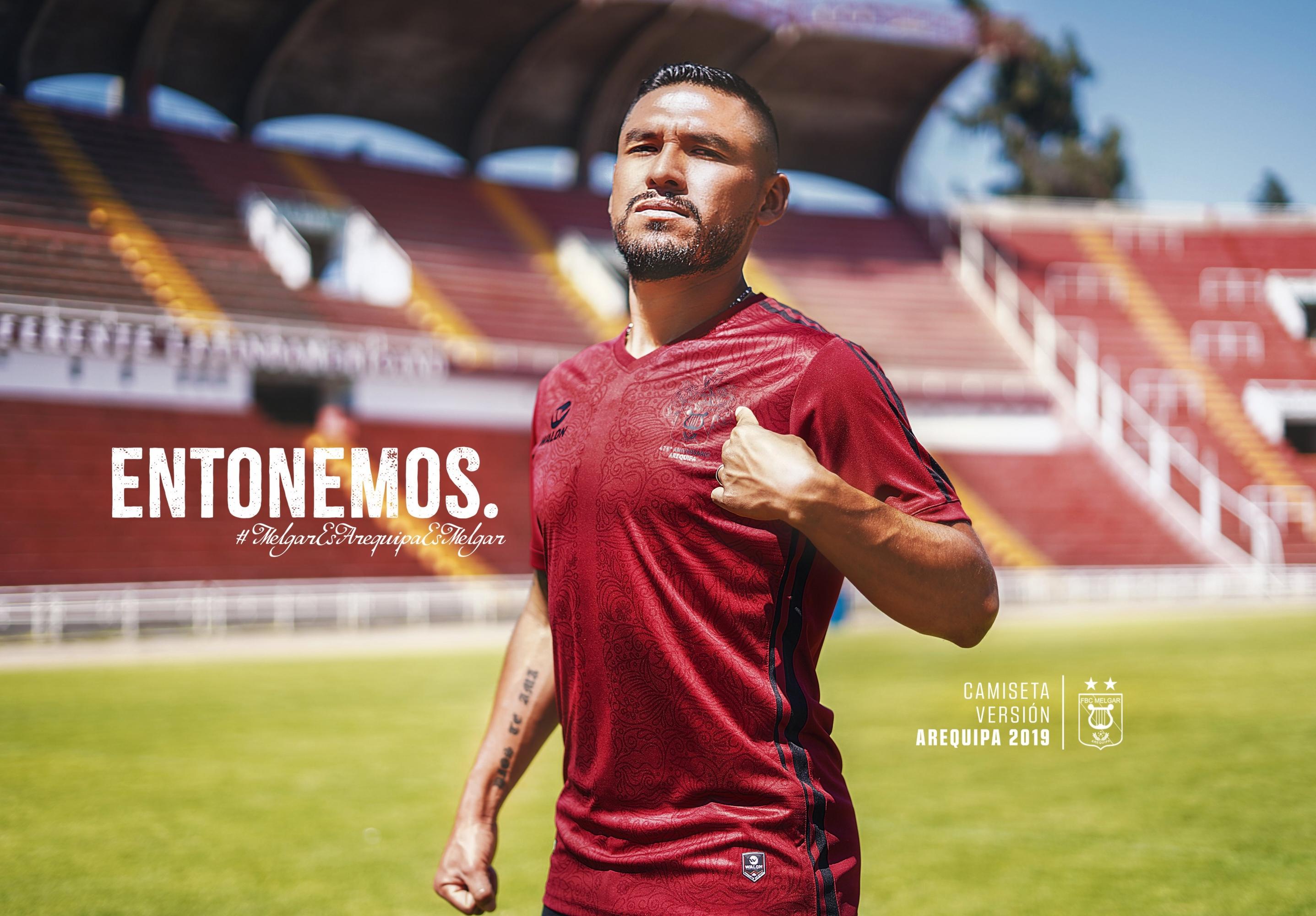 Esta es la camiseta edición limitada de Melgar en homenaje a Arequipa. (Foto: Melgar FBC)