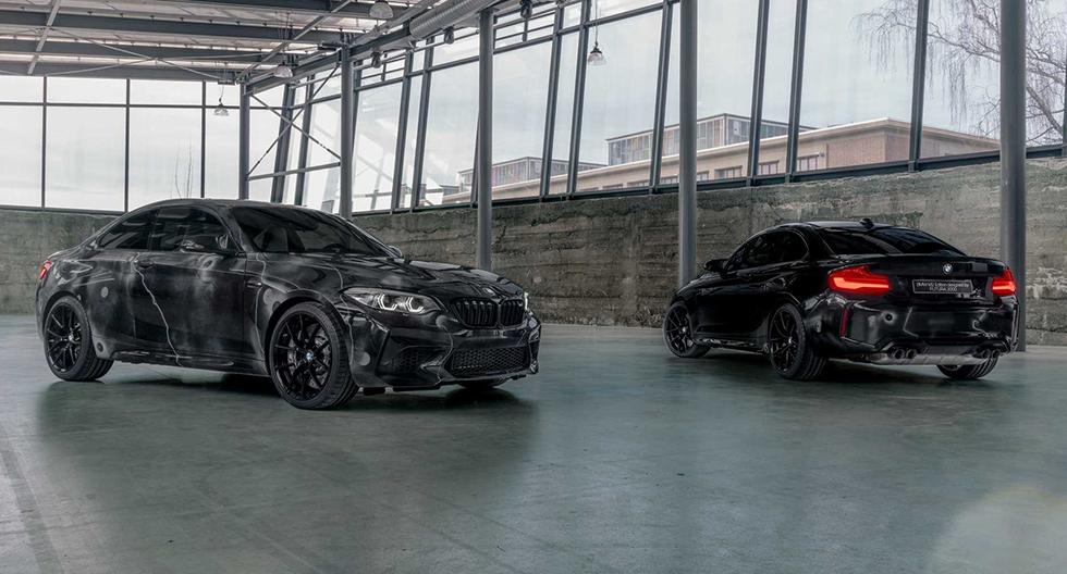 BMW M2 Competition pintado a mano: conoce al deportivo de colección | FOTOS