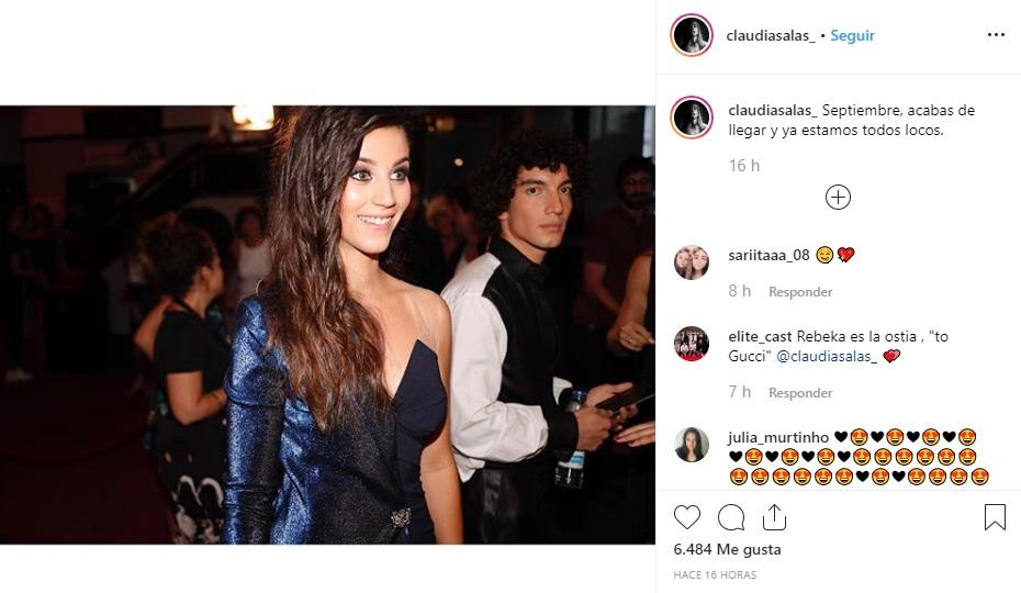 """Claudia Salas, Jorge López y Georgina Amorós son los nuevos protagonistas de la serie española """"Élite"""". (Foto: Instagram)"""