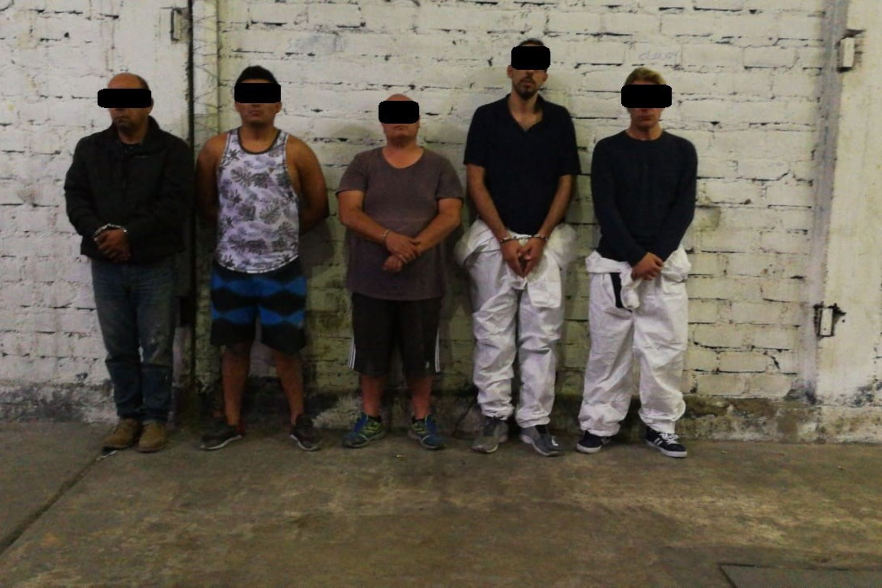 Decomisan más de 290 kilos de droga y detienen a cuatro personas San Martín de Porres