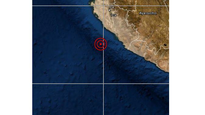 Ica: sismo de magnitud 4,4 se reportó en Nazca, según IGP