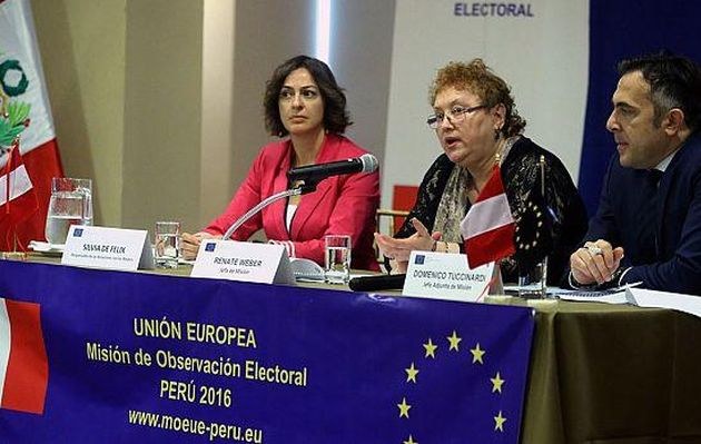 Elecciones 2016: observadores de la UE parten a provincias para trabajo previo