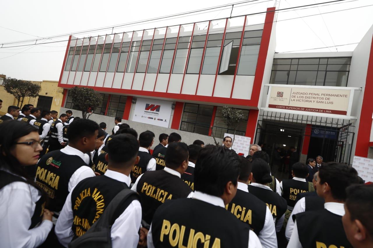 La Victoria: inauguran el primer módulo integral de seguridad y justicia | FOTOS