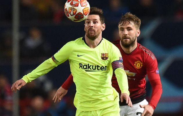 Barcelona goleó 3-0 a Manchester United y avanzó a semifinales por la Champions League
