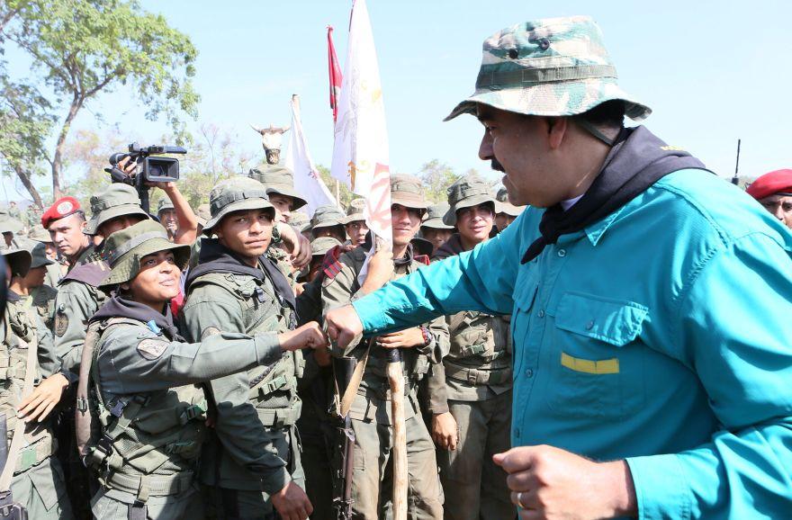 Maduro ha calificado a Guaidó como un títere estadounidense. (Foto: Reuters)