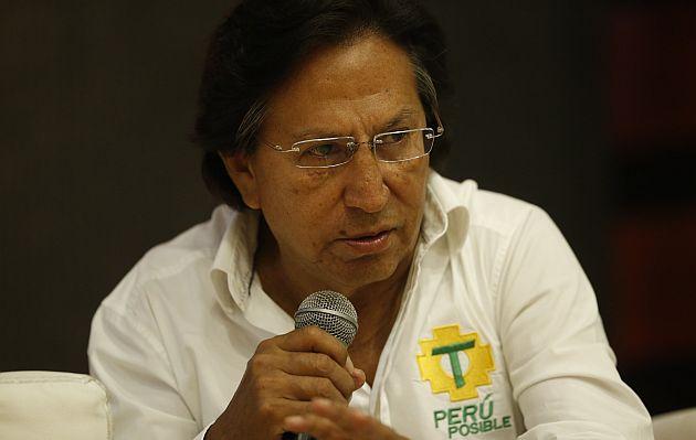 Abren juicio a Alejandro Toledo por presunto lavado de activos