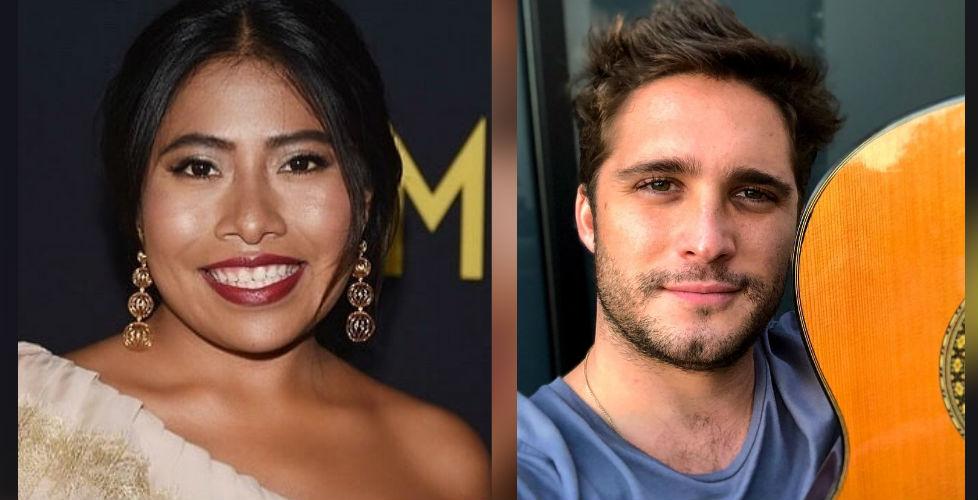 Instagram: Yalitza Aparicio y Diego Boneta anuncian que trabajarán juntos