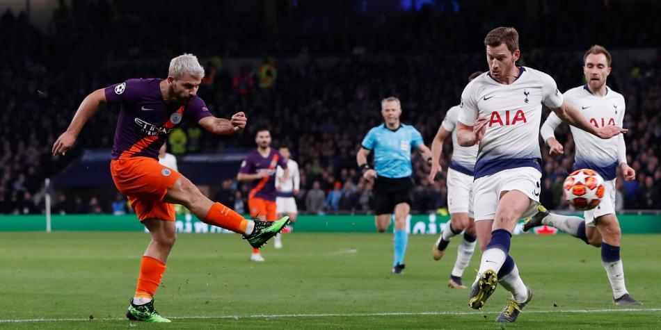 Manchester City vs. Tottenham EN VIVO partido por la Champions League