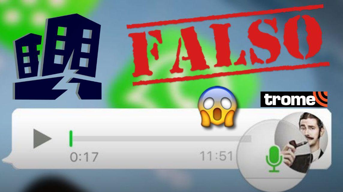 Audio de WhatsApp se viraliza en grupos tras sismo y causa alarma en los usuarios ¡ES FALSO!