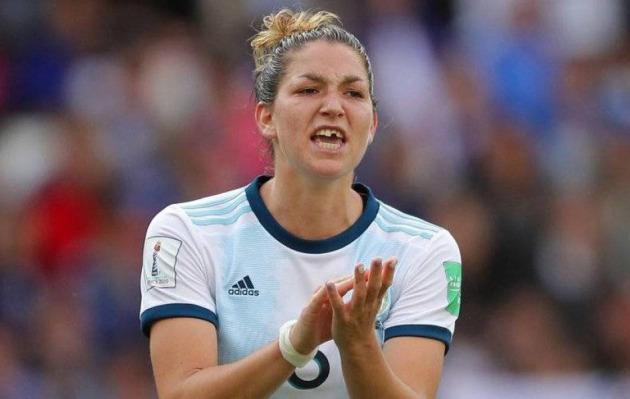 Jugadora perdió un diente, pero Argentina hace historia en el Mundial femenino