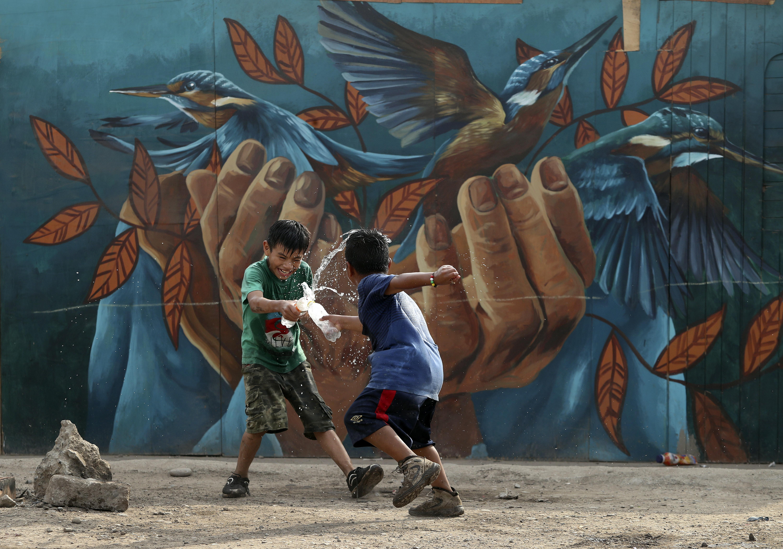 Cantagallo: las terribles condiciones en que artistas niños, jóvenes y ancianos shipibos viven hoy | FOTOS