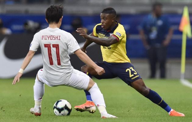 Ecuador empató 1-1 con Japón por la Copa América 2019